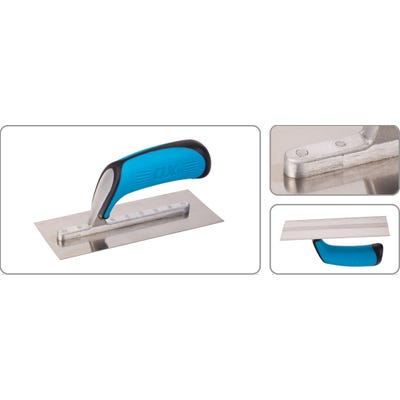 OX 200mm x 75mm Stainless Steel Small Trowel