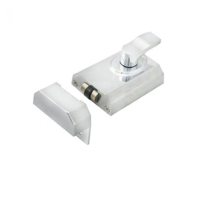 Eurospec Rollerbolt Nightlatch 60mm Polished Chrome