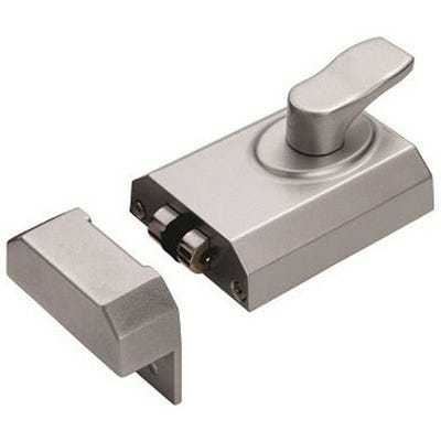Eurospec Rollerbolt Nightlatch 60mm Satin Chrome