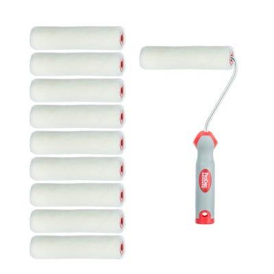 ProDec Advance 4'' Mini Gloss Roller & Frame Pack of 10