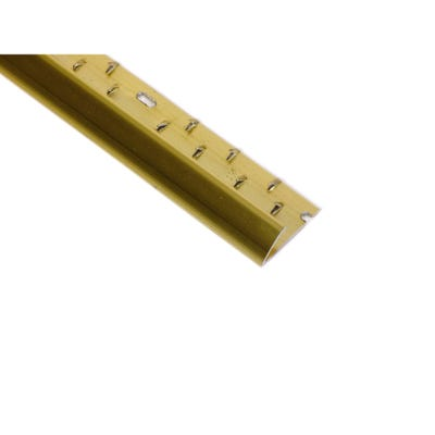 Gold Carpet Single Edge Profile 2700mm