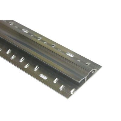 Silver Carpet To Carpet Dual Grip Profile 900mm