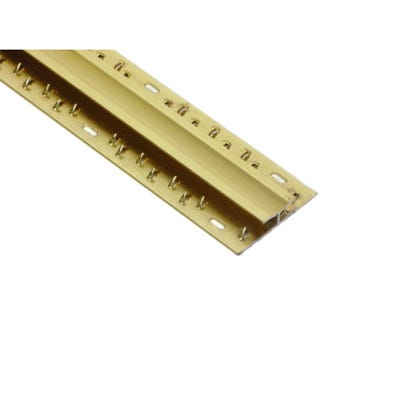 Gold Carpet To Carpet Dual Grip Profile 2700mm