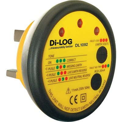 Di-LOG Socket Tester & RCD Test