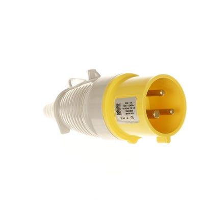 Defender 32A 110V Yellow Plug E884255