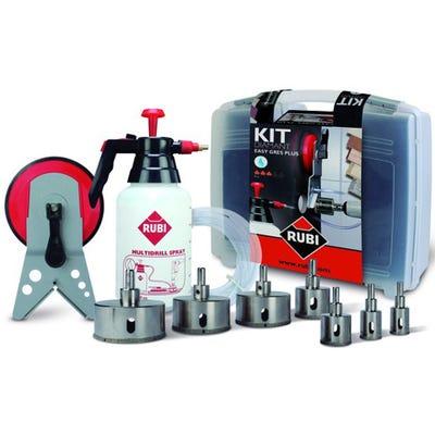Rubi Easy Gres Plus Diamond Tile Holesaw Drill Bit Kit