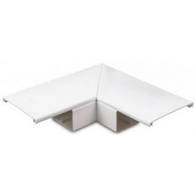 Maxi Trunking Flat Angle White 50mm x 50mm