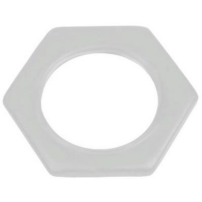 Conduit Locknut White 25mm