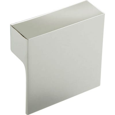 Square Cabinet Door Pull Knob 60mm Stainless Steel