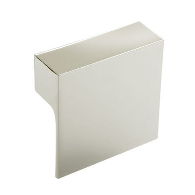 Square Cabinet Door Pull Knob 60mm Polished Chrome
