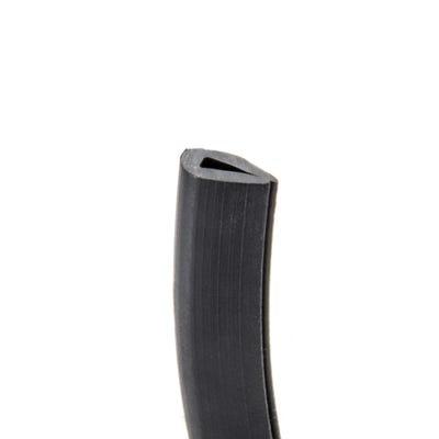 PVC Grommet Edging Strip 1mm - 2mm Black