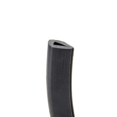 PVC Grommet Edging Strip 1mm - 2mm Black