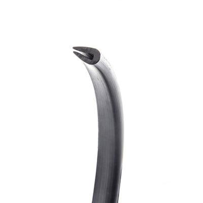 PVC Grommet Edging Strip 2.7mm - 3.8mm Black 1m