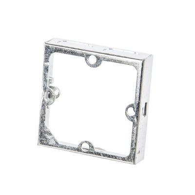 1 Gang 16mm Metal Extension Box