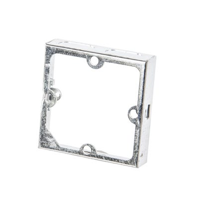 1 Gang 16mm Metal Extension Box