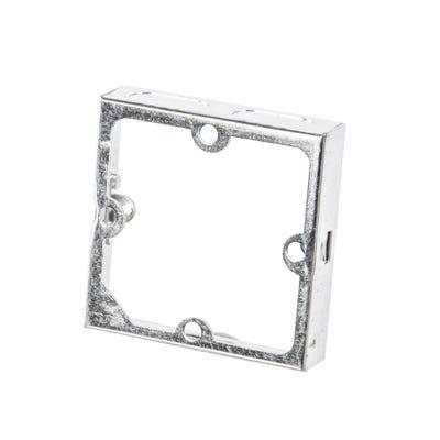 1 Gang 35mm Metal Extension Box