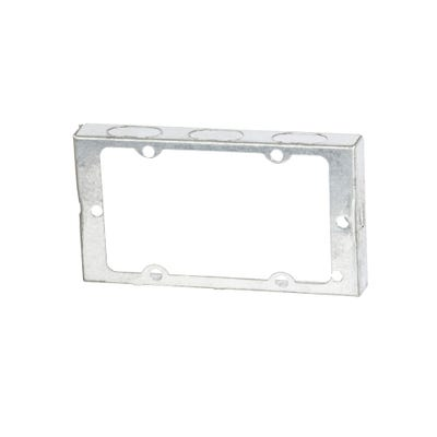 2 Gang 16mm Metal Extension Box