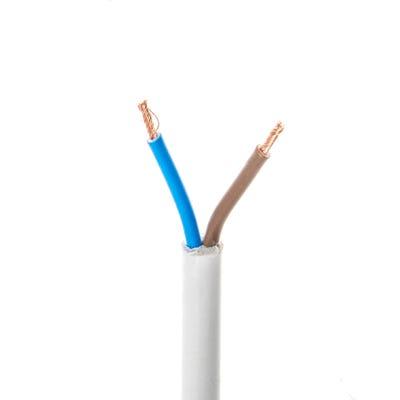 1.5mm 2 Core Flex Cable White 100m Drum 3182Y