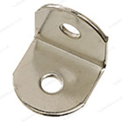 Mini Worktop Brackets 19mm Bright Zinc Pack of 50