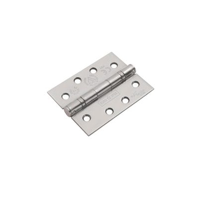 Eurospec Grade 13 Certifire Hinges 102mm Satin Stainless Steel 3 Pack