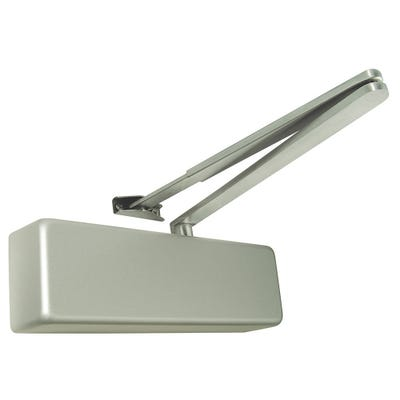 Rutland Door Closer EN3 & Cover Silver Closer