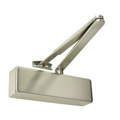 Rutland Door Closer EN3 & Satin Nickel Cover
