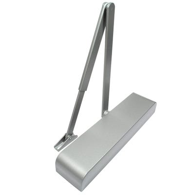 Rutland Door Closer EN2-4 with Back Check & Silver Cover