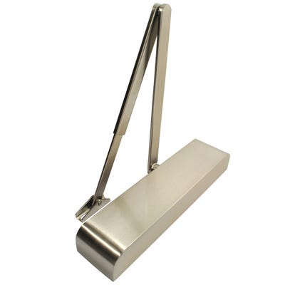 Rutland Door Closer EN2-4 with Back Check & Satin Nickel Cover