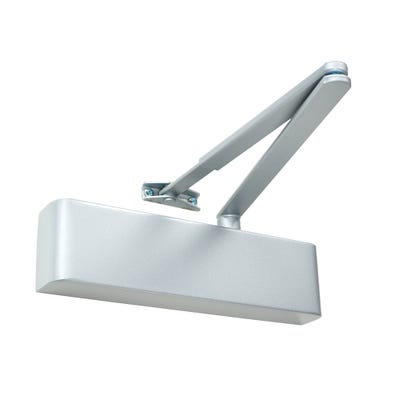 Rutland Door Closer EN2-5 & Silver Cover