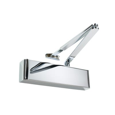 Rutland Door Closer EN2-5 & Polished Chrome Cover
