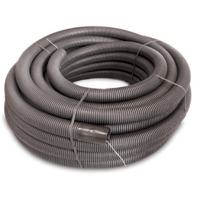 Cable Ducting Twin Wall Black Per Metre 75mm