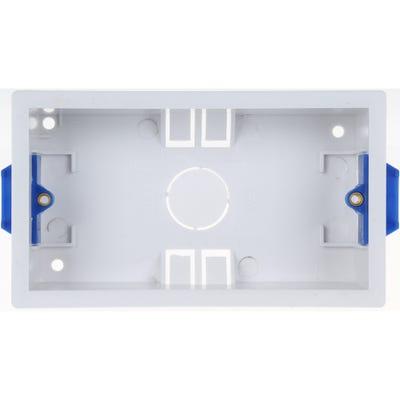 BG Nexus 2 Gang 35mm Dry Lining Boxes 908-01
