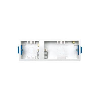 BG Nexus Triple 35mm 1 & 2 Gang Dry Lining Boxes 920-01