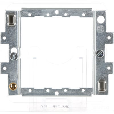 BG Nexus Metal Clad 1 & 2 Module Grid Mounting Frame (Yolk) for Screwless Range GFR12FP-01