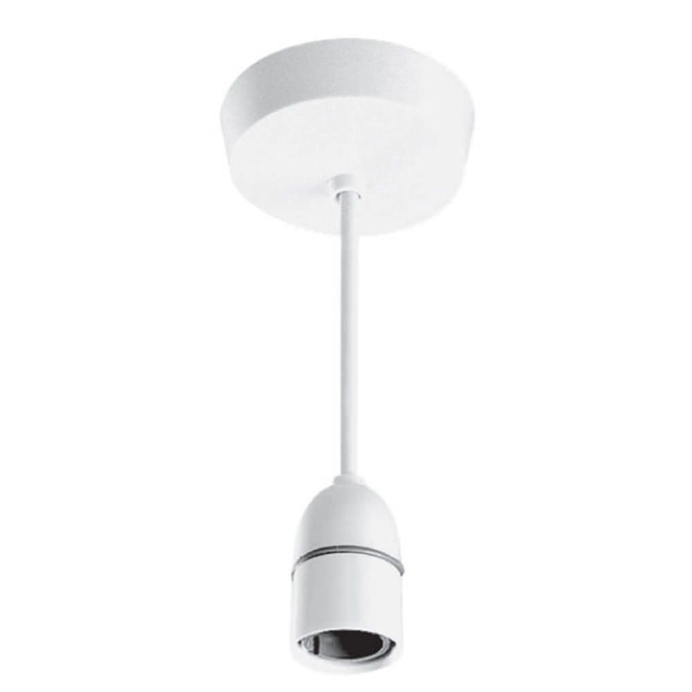PACK OF 3 STRAIGHT BATTEN LAMP HOLDER LIGHT FITTING 75MM