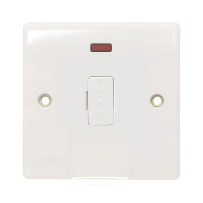 BG Nexus 13A Unswitched Fused Spur Unit & Neon 856-01