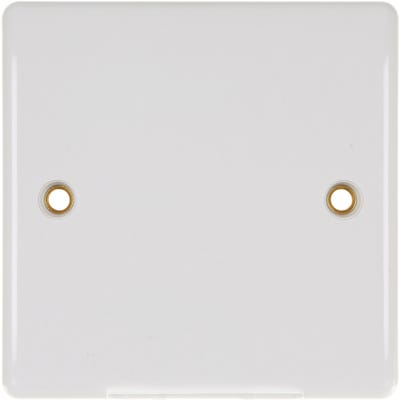 BG Nexus 25A Cable Outlet Plate Bottom Entry 858-01