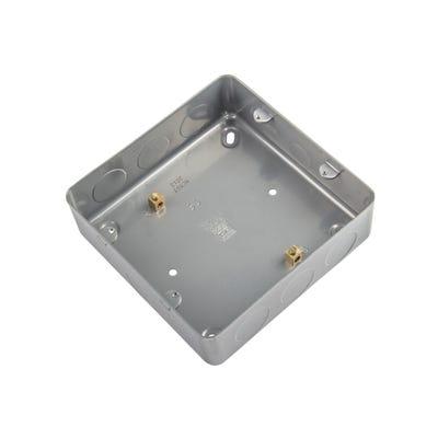 BG Nexus Flush Metal Clad Box for 6 & 8 Gang Grids MC503-01