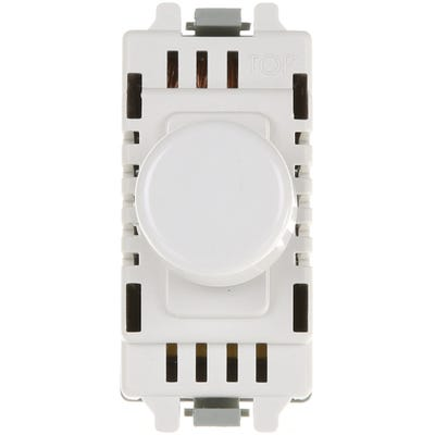 BG Nexus 400W 2 Way Push Dimmer Switch GD400-01