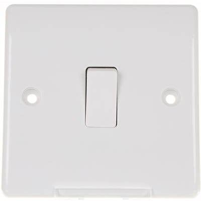 BG Nexus 10A 1 Gang 2 Way Light Switch 812-01