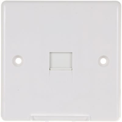 BG Nexus 1 Gang RJ11 Telephone Socket (Screw Terminal) 8RJ11/1-01