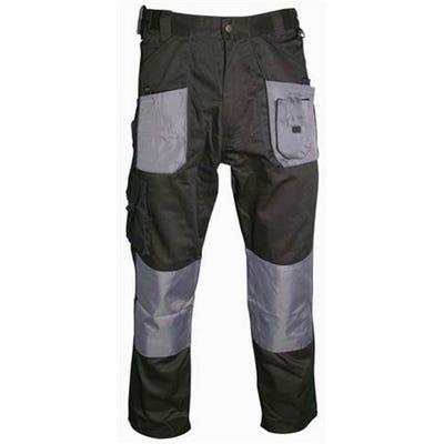 Blackrock Workman Trousers Black/Grey 32 Regular