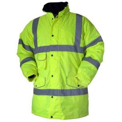 Blackrock Yellow Hi-Vis Coat Extra Large
