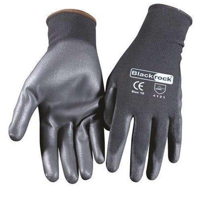 Blackrock Lightweight PU Gripper Glove Size 10