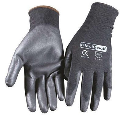 Blackrock Lightweight PU Gripper Glove Size 10