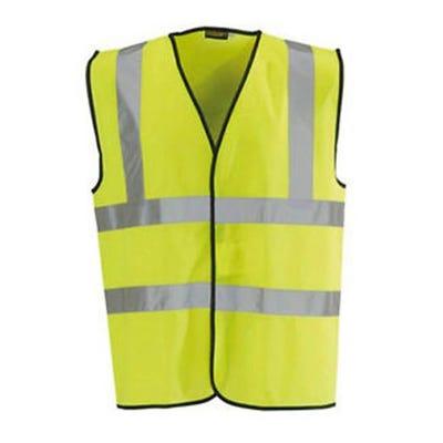 Blackrock Yellow Hi-Vis Waistcoat Medium