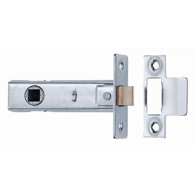 Dale 76mm Tubular Latch Nickel Plated Trade Pack of 10