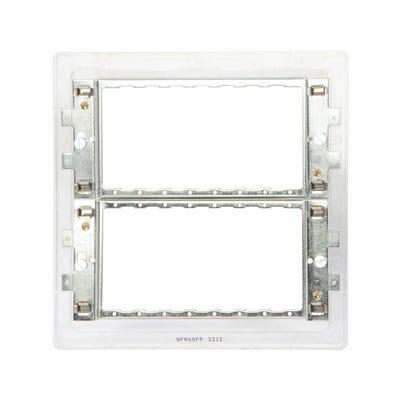 BG Nexus Grid 6 & 8 Module Mounting Frame (Yolk) for Screwless Range GFR68FR