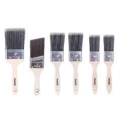 ProDec Trojan 6 Piece Brush Set With Woodworker Brush
