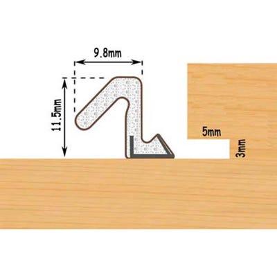 Aquatex A10 Door Seal White (Per Metre)